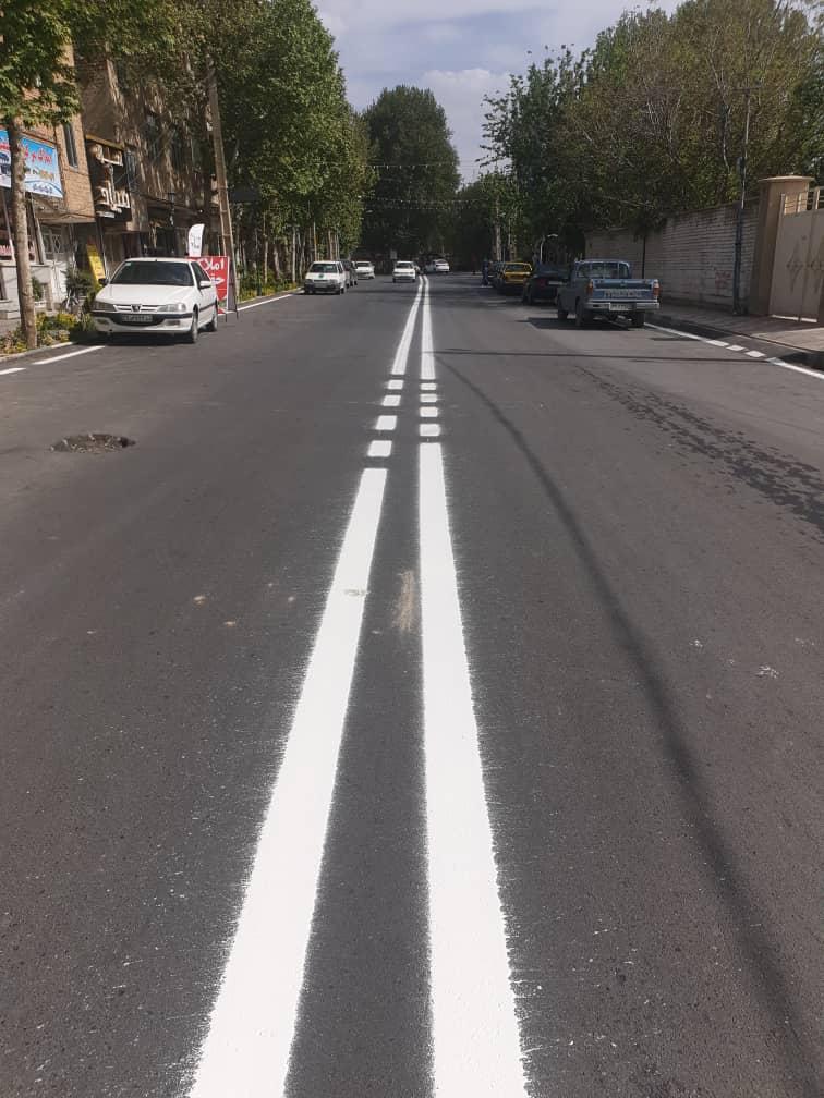 رنگ سفید ترافیکی