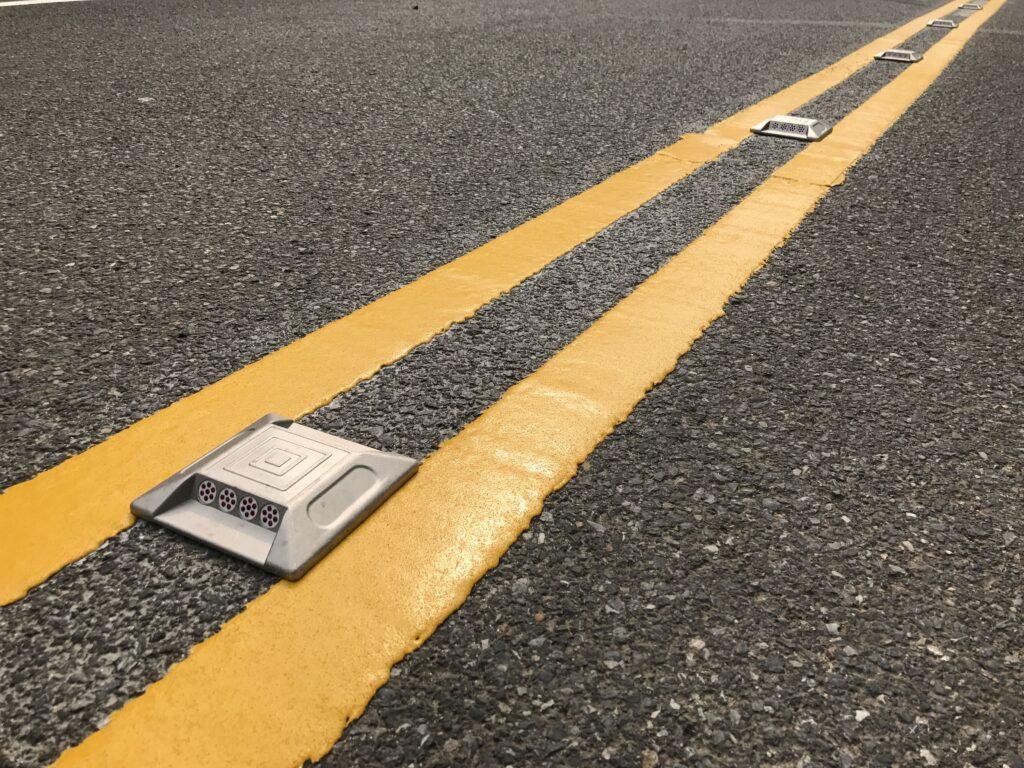 خط کشی جاده ها